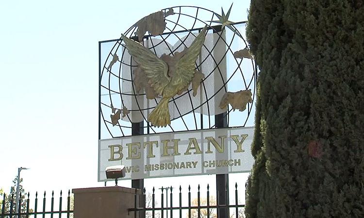 Nhà thờBethany Slavic tại thành phố Rancho Cordova, hạt Sacramento, bang California, Mỹ. Ảnh: Fox News.