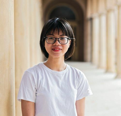 Huỳnh Hoàng Bảo Châu, dự bị đại học liên thông lên chương trình cử nhân Kế toán tại Adelaide.