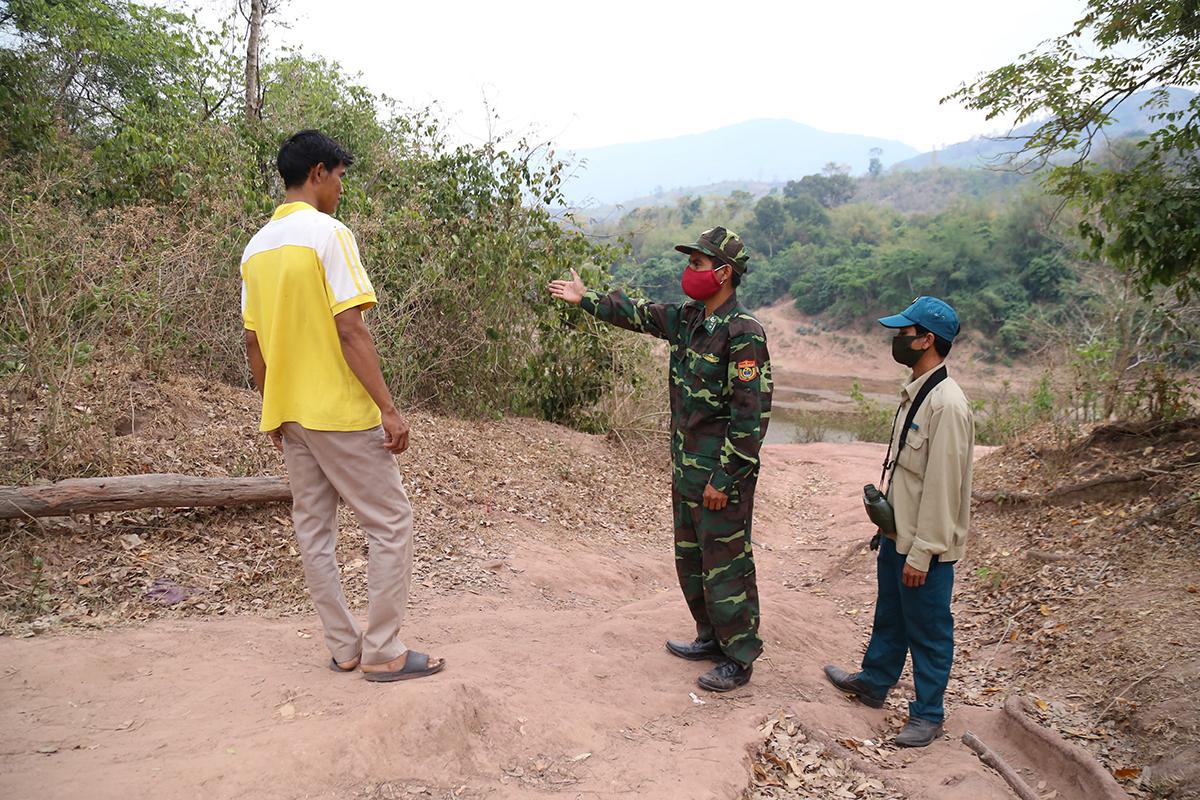 Nhiều người nhập cảnh trái phép từ Lào về Việt Nam