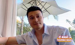 Quang Vinh tự cách ly trong resort