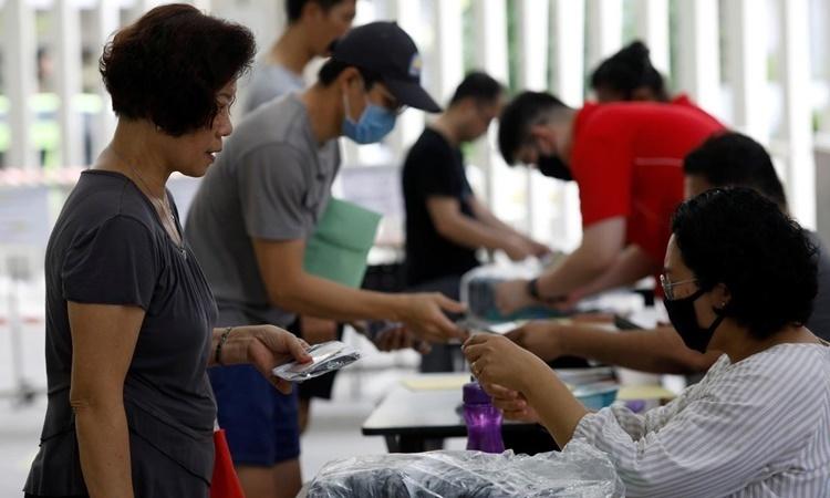 Singapore ghi nhận số ca nhiễm mới nCoV cao kỷ lục