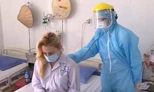 Bác sĩ công an trên tuyến đầu chống dịch