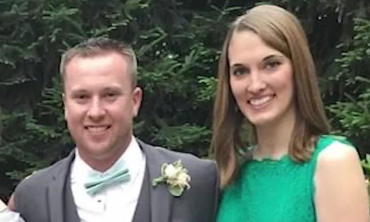 Ben Luderer và vợ, Brandy. Ảnh: CNN.