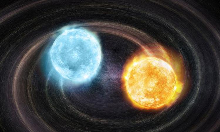 Phát hiện hệ sao lùn trắng nhị phân