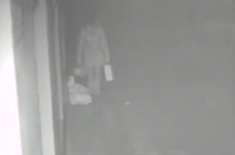 Người phụ nữ xuất hiện trên camera an ninh. Ảnh: CCTV.