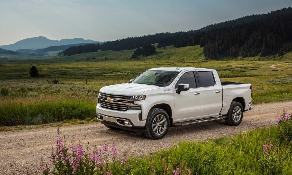 Mẫu bán tải của Chevrolet xếp thứ hai. Ảnh: Chevrolet.