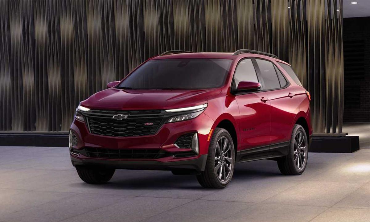 Equinox bán 73.453 xe trong quý một 2020. Ảnh: Chevrolet.