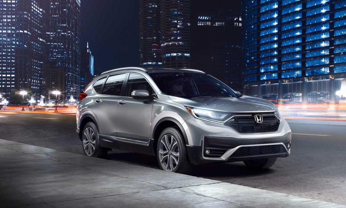 Doanh số của CR-V giảm 18,4% so với cùng ký 2019. Ảnh: Honda.