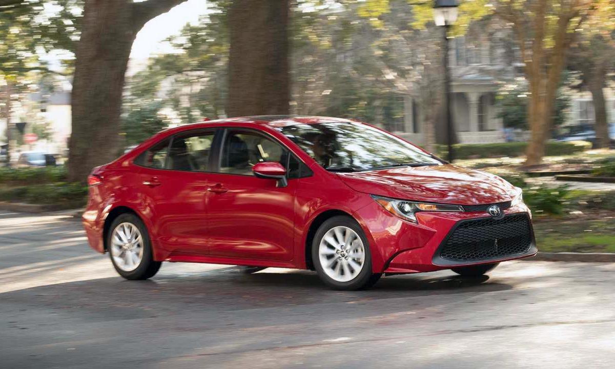 Toyota Corolla bán được 68.214 xe. Ảnh: Toyota.