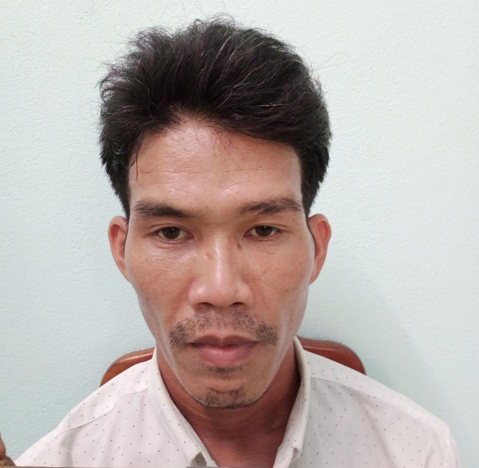 Nguyễn Văn Phương tại cơ quan điều tra. Ảnh: Đại Hiệp.