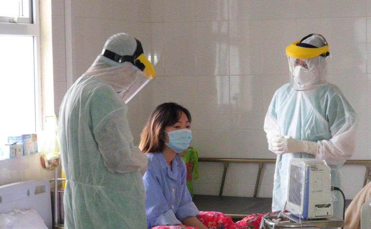 Bệnh nhân 52 đang được điều trị tại Bệnh viện số 2. Ảnh: Thế Thiêm
