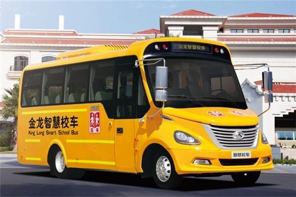 Xe bus đưa đón học sinh Trung Quốc. Ảnh: Every China