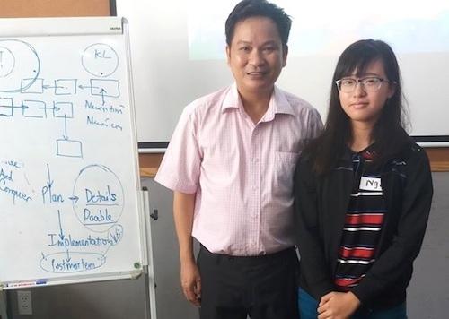 Trần Bảo Ngân nhận được lời khen, chúc mừng của TS Trần Nam Dũng – Phó Giám đốc Titan Education, mentor FUNiX sau khi hoàn thành Chứng chỉ 1 – Công dân số.