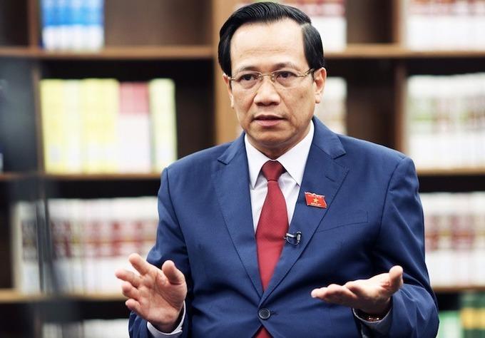 Bộ trưởng Đào Ngọc Dung. Ảnh: Võ Hải