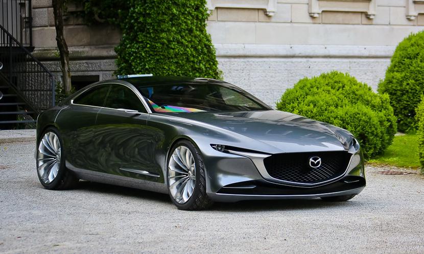 Mazda Vision Coupe concept có thể là tiền thân của Mazda6 thế hệ mới. Ảnh: Flickr