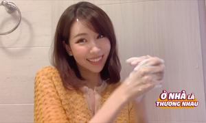 Min biến tấu điệu rửa tay Ghen Cô Vy tại nhà