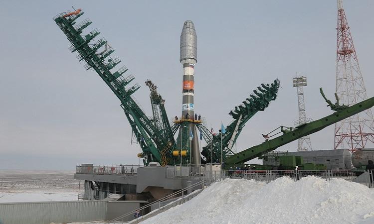 Tên lửa Soyuz là phương tiện chính để chở phi hành gia lên trạm ISS. Ảnh: Space.