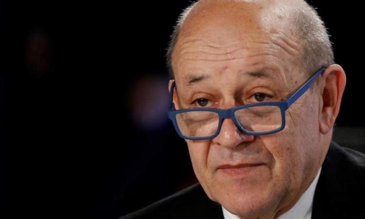 Ngoại trưởng Pháp Jean-Yves Le Drian. Ảnh: AFP.