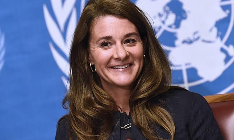 Melinda Gates, đồng sáng lập Quỹ Bill & Melinda Gates, tổ chức từ thiện lớn nhất thế giới. Ảnh: Reuters.