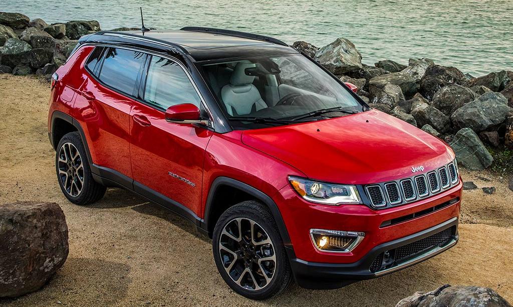 Xe SUV Jeep Compass lắp ráp trong thời gian 12/5/2019-3/3/2020 thuộc danh sách triệu hồi. Ảnh: Jeep