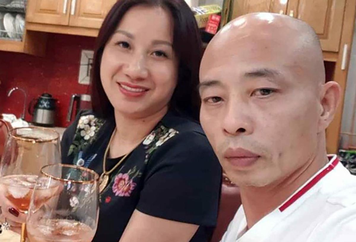 Vợ chồng Đường Dương lúc chưa bị bắt. Ảnh: Facebook nhân vật.