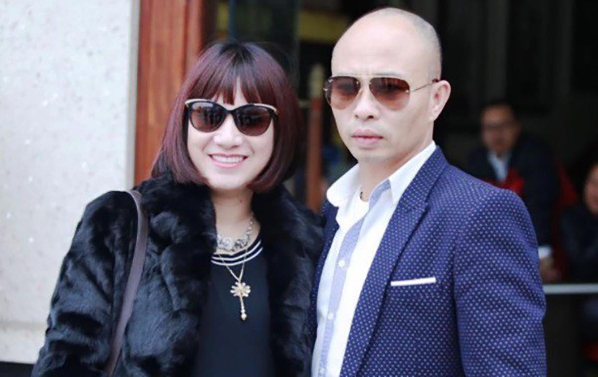 Vợ chồng Dương Đường lúc chưa bị bắt. Ảnh: Facebook nhân vật.