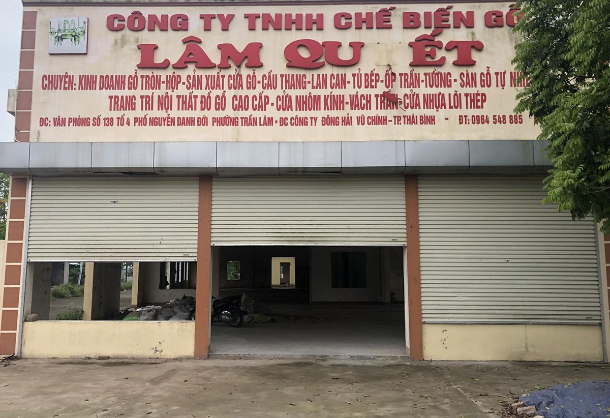 Công ty nhà anh Hà bỏ hoang sau nhiều năm dính líu đến Đường Nhuệ. Ảnh: Phạm Dự.
