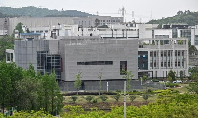 Toàn cảnh phòng thí nghiệm P4 của Viện Virus học Vũ Hán ở tỉnh Hồ Bắc, Trung Quốc hôm 17/4. Ảnh: AFP.