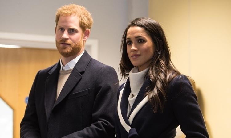 Harry và Meghan tại một sự kiện ở Birmingham, Anh, ngày 8/3/2018. Ảnh:Reuters.