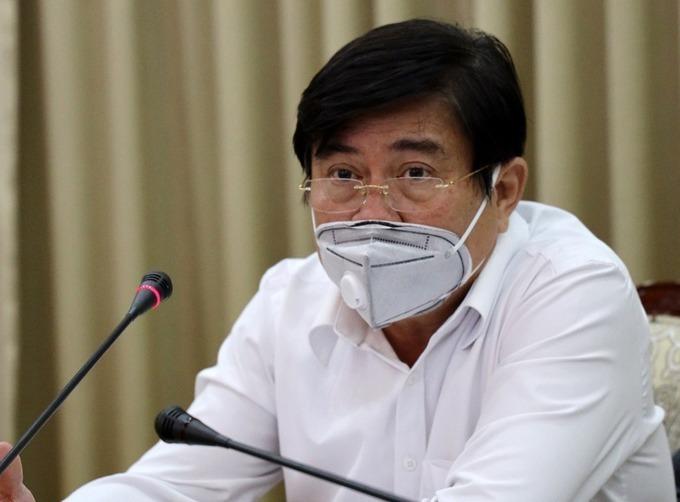 Chủ tịch UBND TP HCM Nguyễn Thành Phong. Ảnh: TTBC