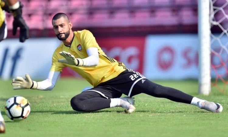 Thủ môn UAE. Ảnh: