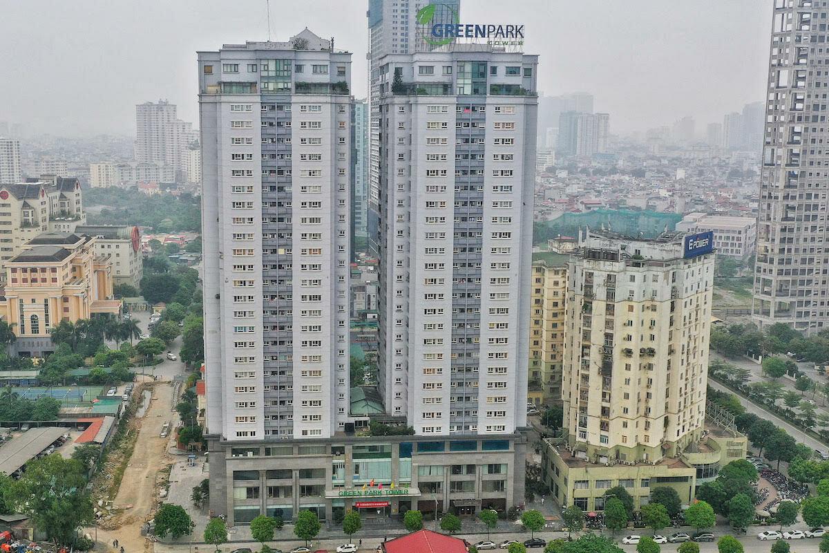 Nhà công vụ tại chung cư CT1-CT2, khu đô thị Yên Hòa, Cầu Giấy, Hà Nội. Ảnh: Giang Huy