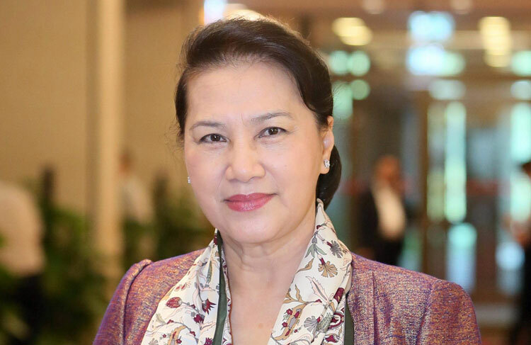 Chủ tịch Quốc hội Nguyễn Thị Kim Ngân. Ảnh: Ngọc Thắng