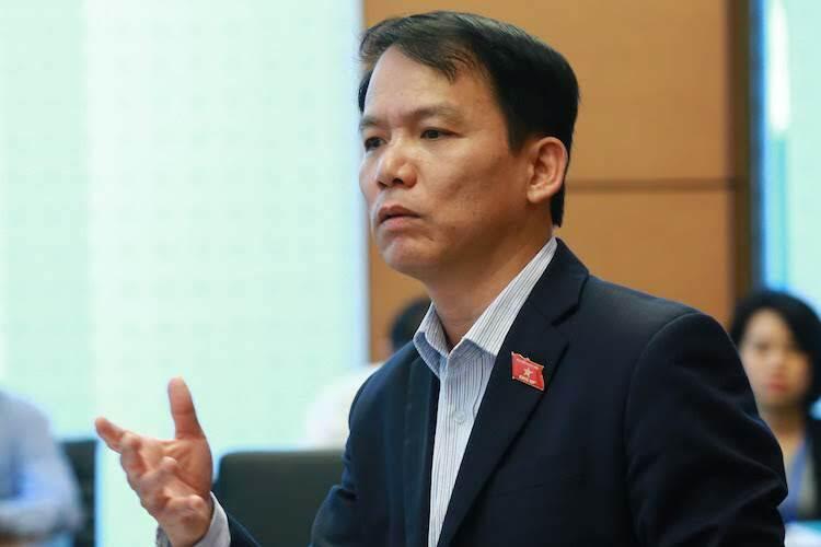Chủ nhiệm Uỷ ban Pháp luật Hoàng Thanh Tùng. Ảnh: Ngọc Thắng