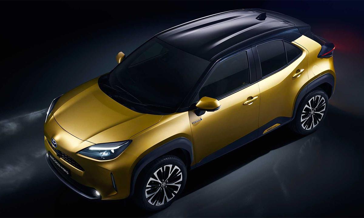 Yaris Cross mới dành cho thị trường châu Âu. Ảnh: Toyota