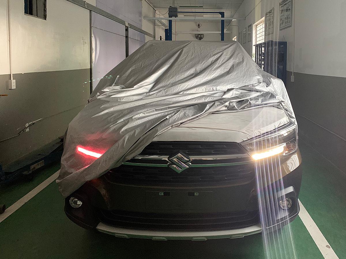 Ảnh rò rỉ mẫu XL7 tại một đại lý Suzuki tại TPHCM. Ảnh: Nguyễn Tân