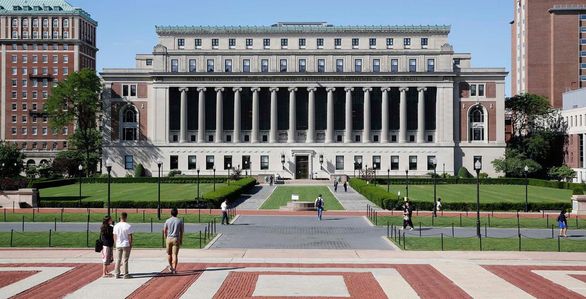 Đại học Columbia tọa lạc tại thành phố New York. Ảnh: Columbia University.