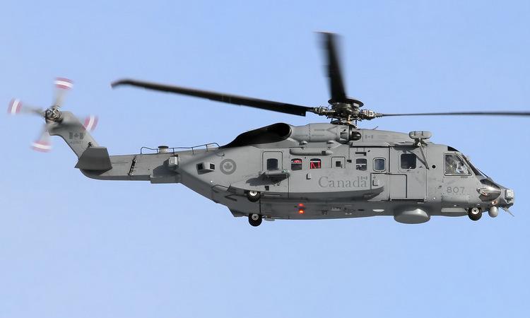 Trực thăng CH-148 của quân đội Canada. Ảnh: Airliners.
