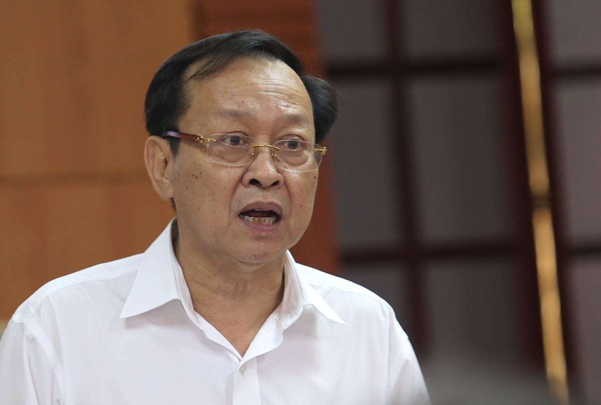 Ông Nguyễn Văn Hai, Giám đốc Sở Y tế Quảng Nam. Ảnh: Đắc Thành.