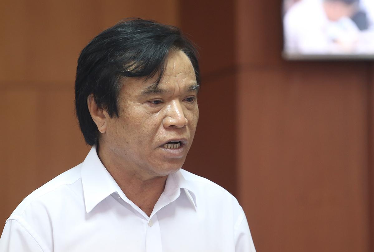 Ông Phan Văn Chín, Giám đốc Sở Tài chính. Ảnh: Đắc Thành.