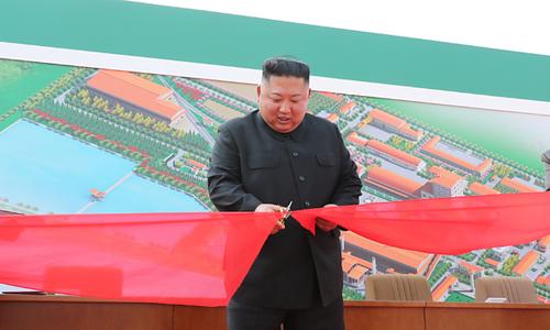 Trump không bình luận việc Kim Jong-un tái xuất