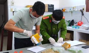 Hai vụ vận chuyển ma túy bị bắt