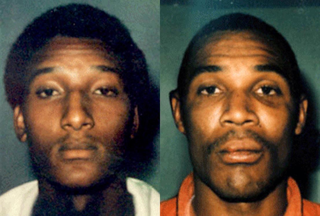 Ronald Cotton (trái) và Bobby Poole. Ảnh: Burlington Police Department.