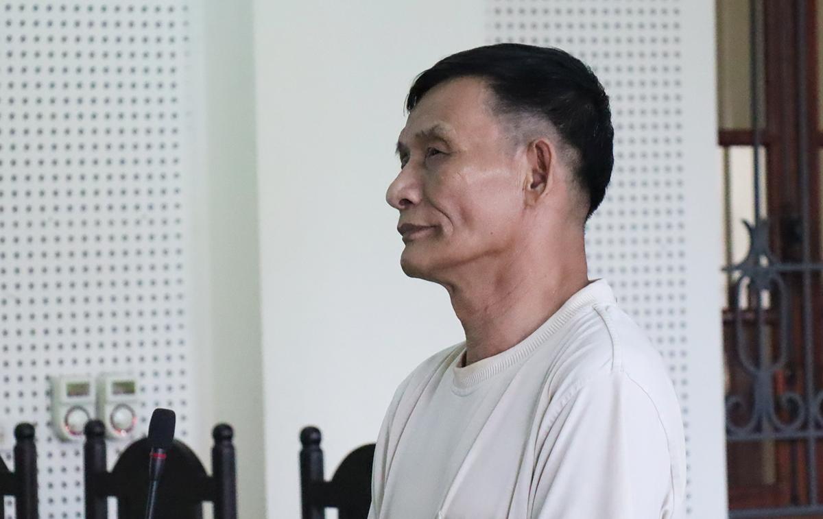 Bị cáo Bình tại tòa. Ảnh: Phương Linh.
