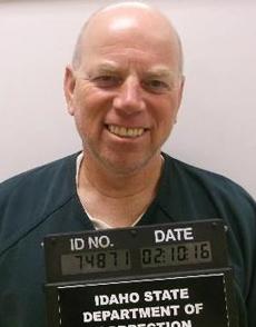 David Dalrymple. Ảnh: Idaho Department of Correction.
