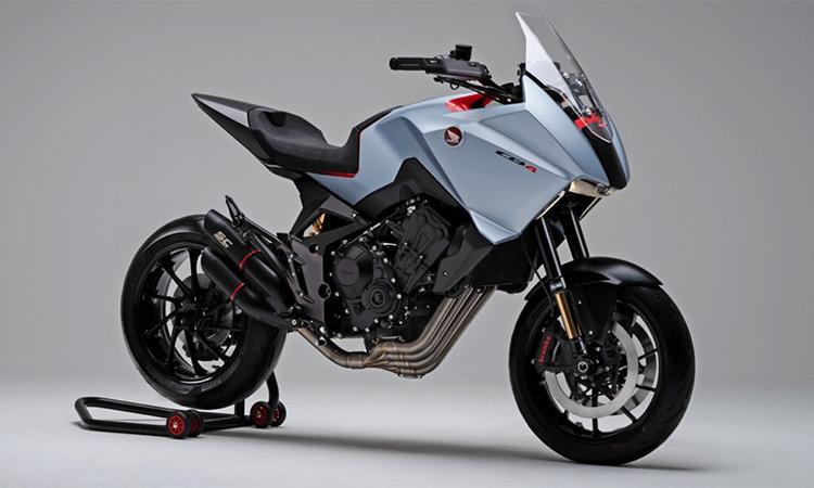 Bản Concept của Honda CB4X giới thiệu tại EICMA 2019. Ảnh: Honda