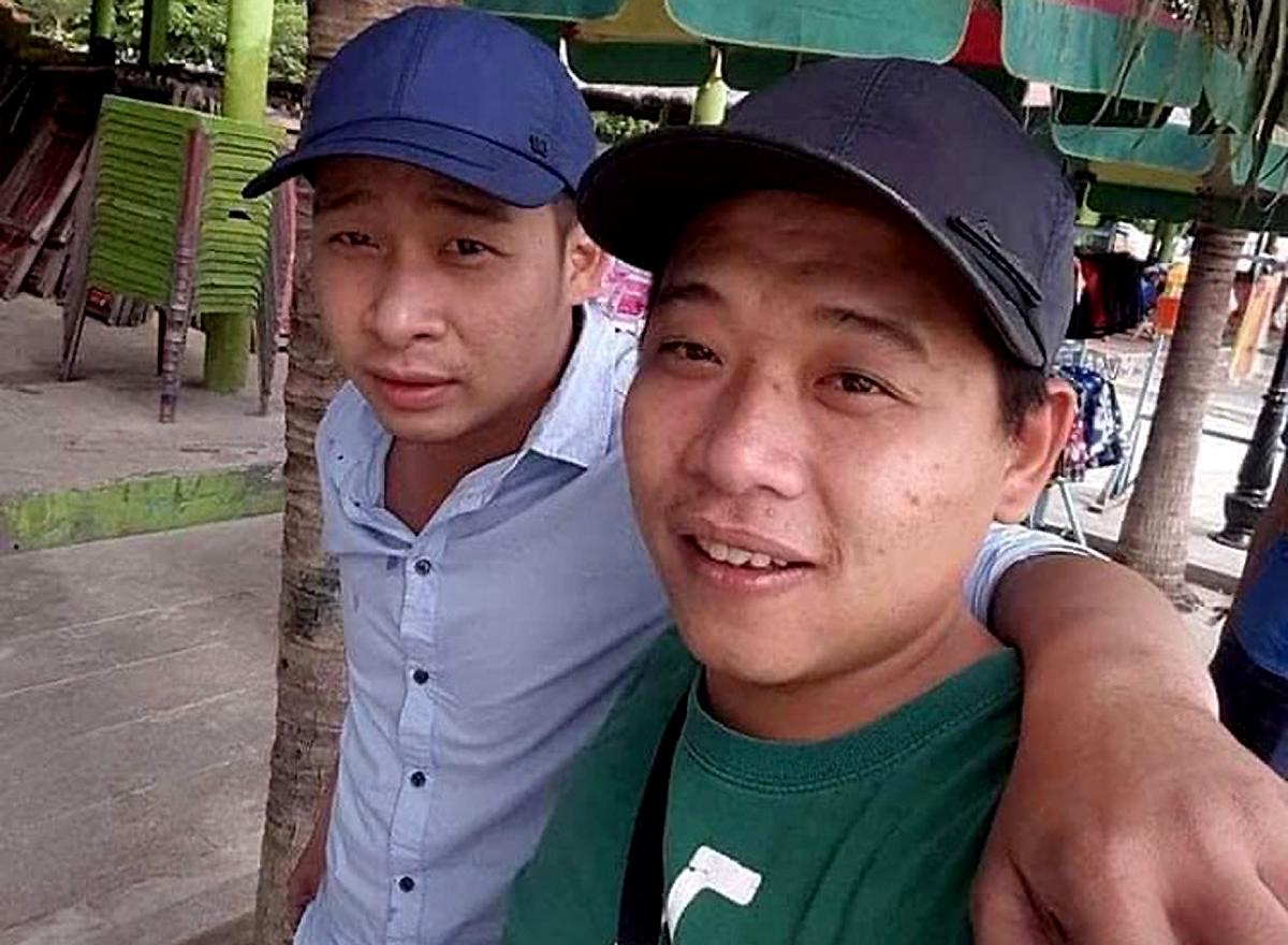 Tuấn (trái) và Lê Quốc Minh.