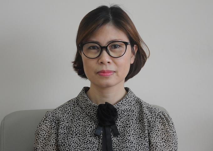 Bà Đặng Quỳnh Thư, vụ trưởng Quy mô dân số - Kế hoạch hoá gia đình. Ảnh:Viết Tuân