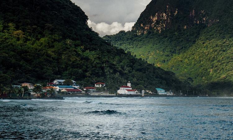 Quần đảoAmerican Samoa, vùng lãnh thổ của Mỹ ở Thái Bình Dương. Ảnh: NYTimes.
