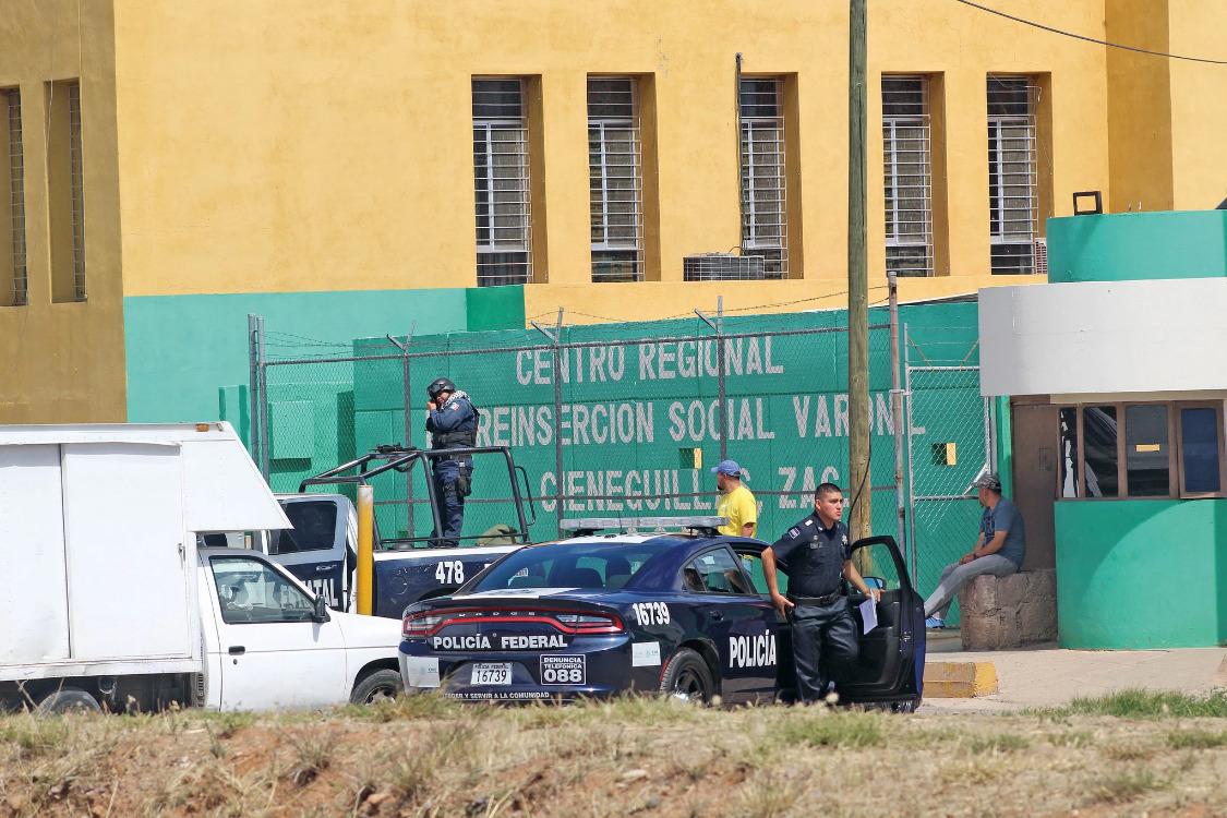 Nhà tù Cieneguilllas nơi vụ vượt ngục xảy ra. Ảnh: El Universal.